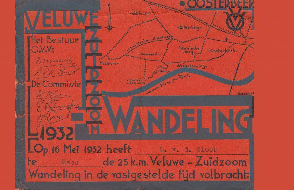 1932 Oosterbeek diploma L. Casteleijn
