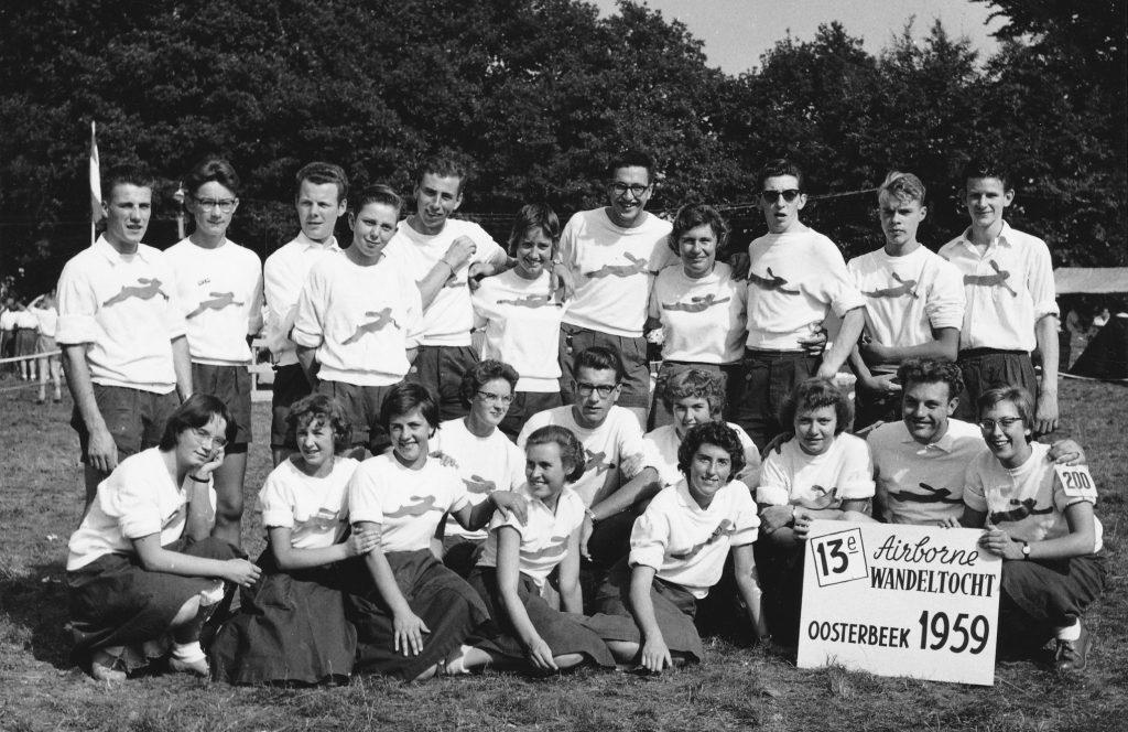 1959 Airborne groepsfoto