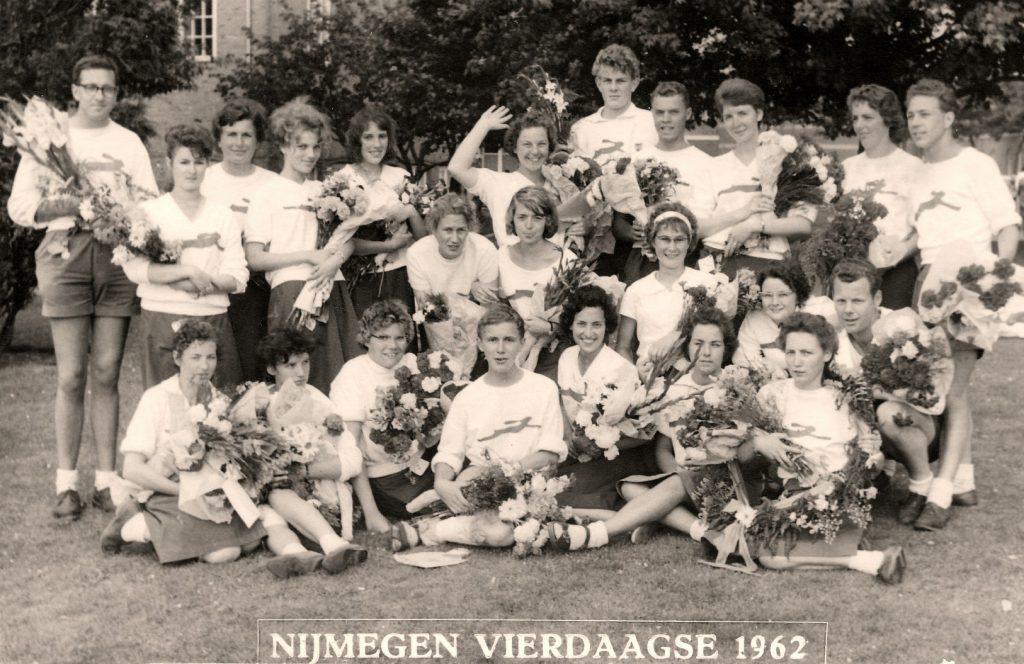 1962 Vierdaagse Groepsfoto