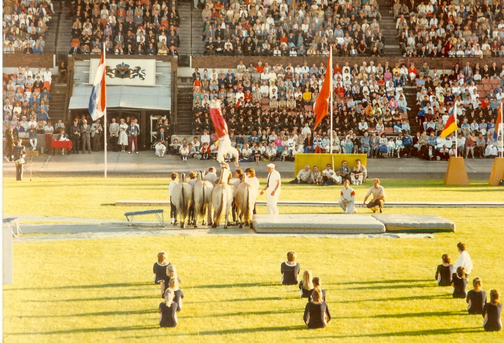 1985 Vlaggenparade Gofferstadion