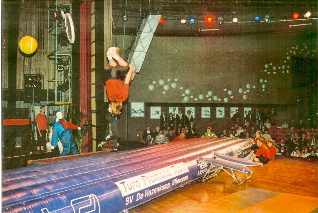 1995 Luchtkussen op sportgala Venlo