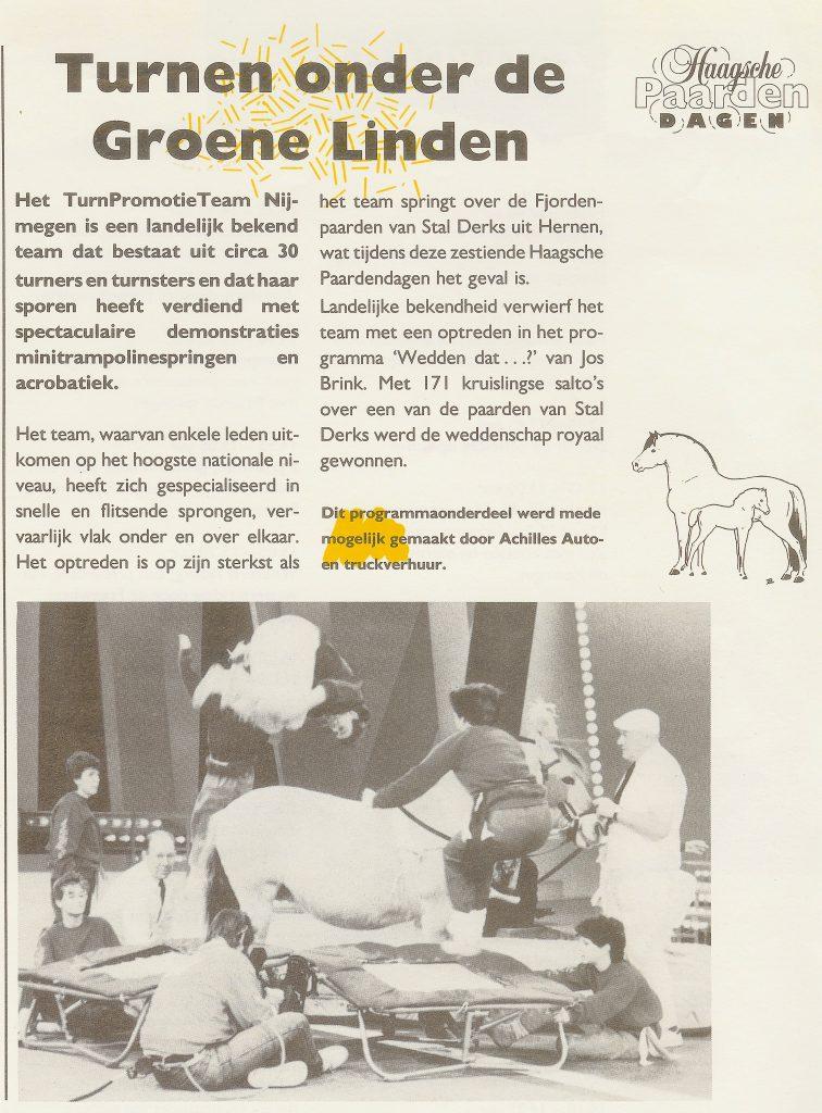 1998 Haagsche Paardendagen
