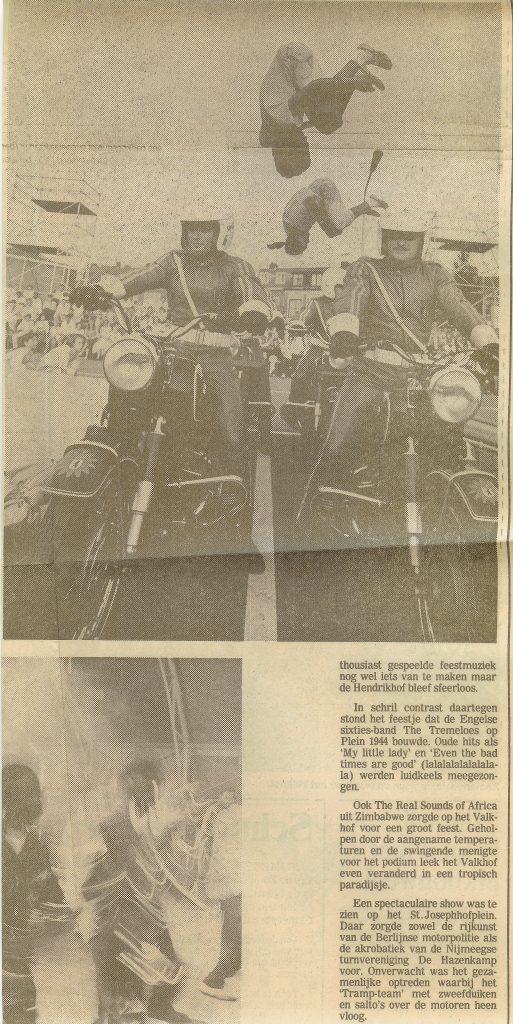 Over Berlijnse motorpolitie