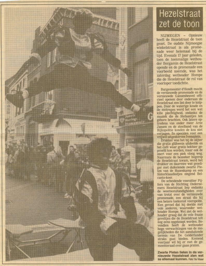 Zwarte Pieten Heselstraat