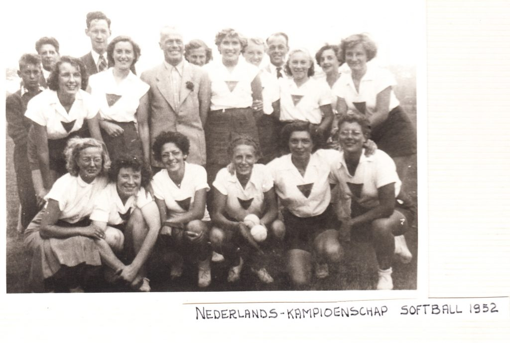1952 Softbal Nederlands Kampioenschap