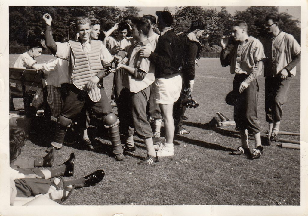 1960 honkbal 1e team Driehuizerweg
