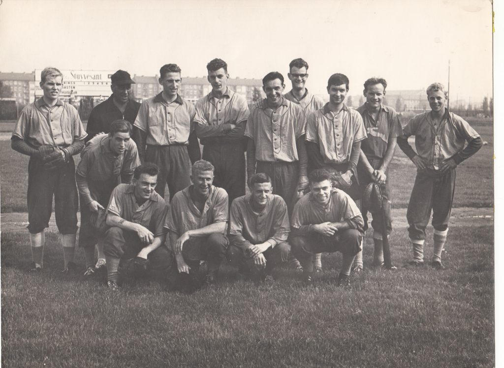 1961 1e team honkbal Amsterdam