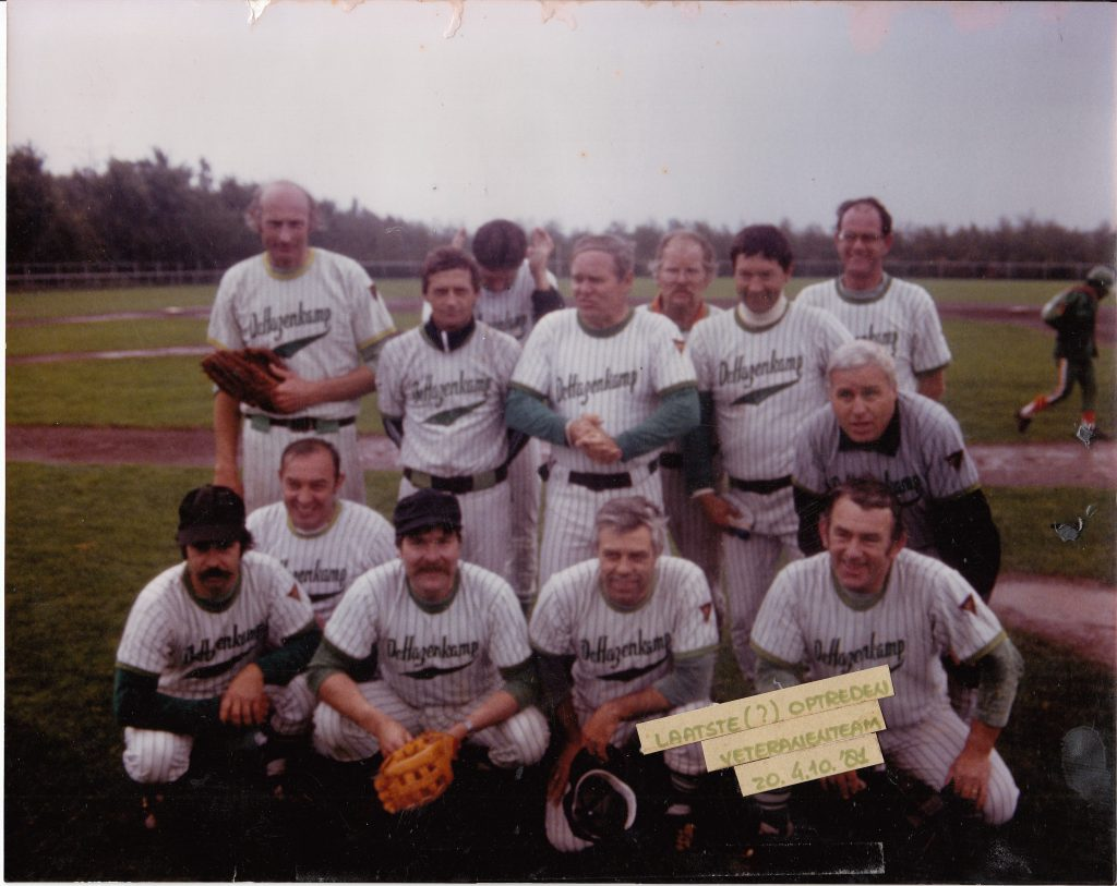 1981 Honkbal Veteranenteam