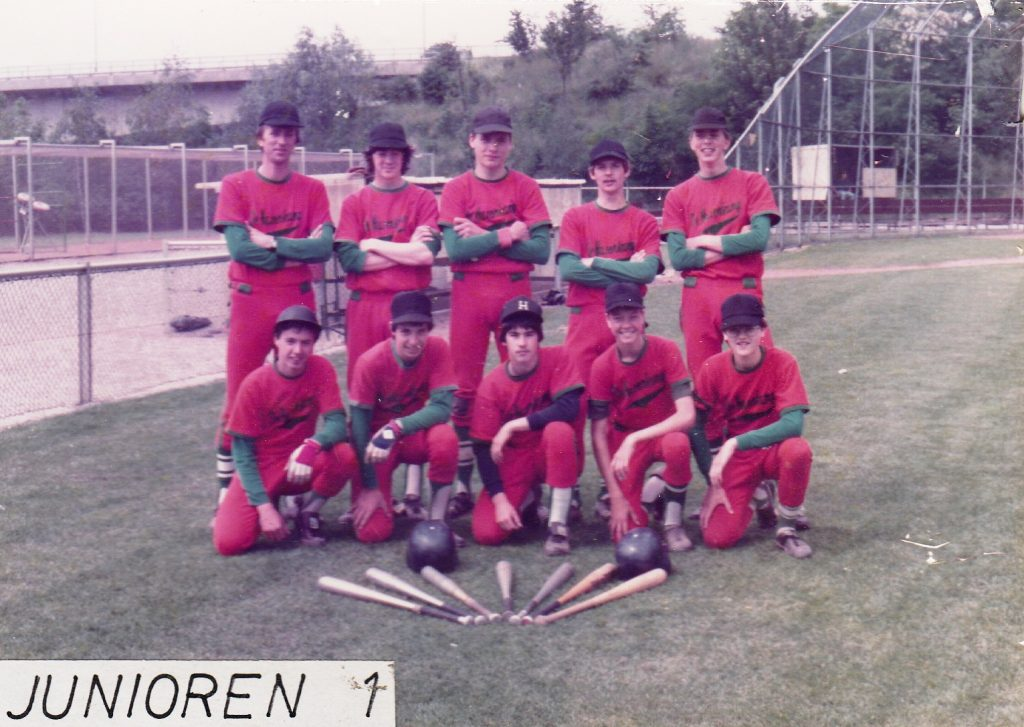 1983 Honkbal Junioren 1