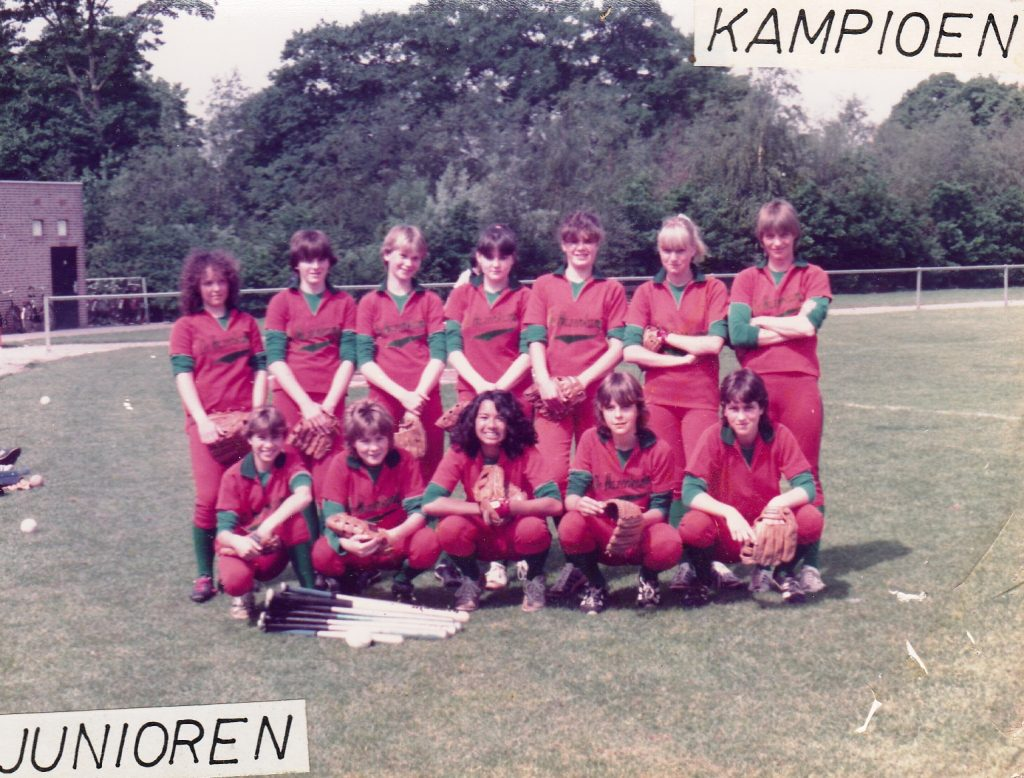 1983 Softbal Junioren