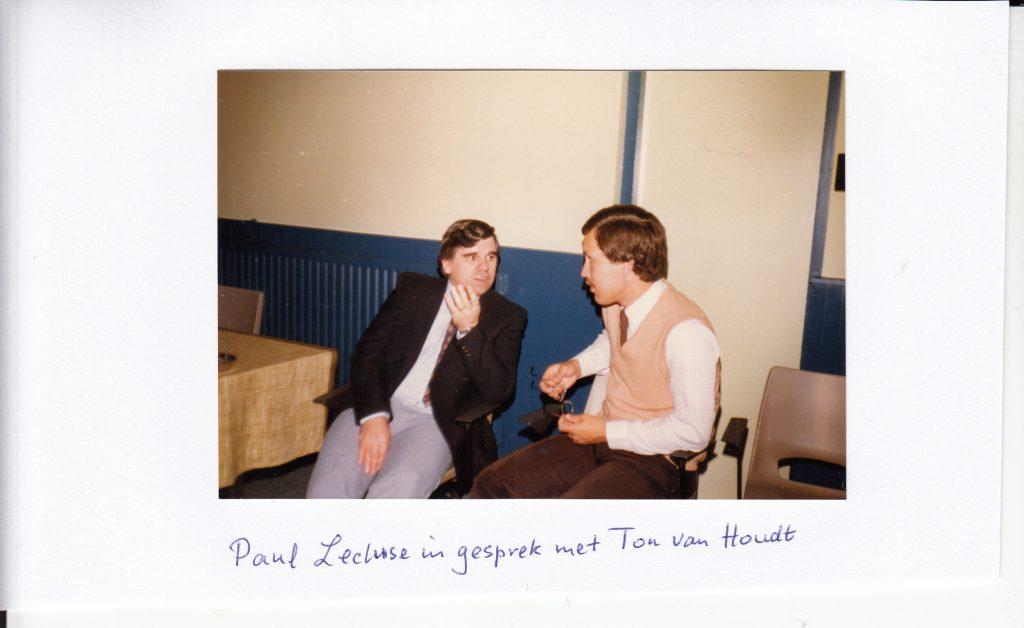 Ton van Houdt en Paul Lecluse